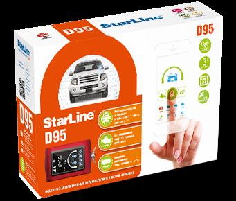 StarLine D95 BT 2CAN+LIN GSM/GPS
