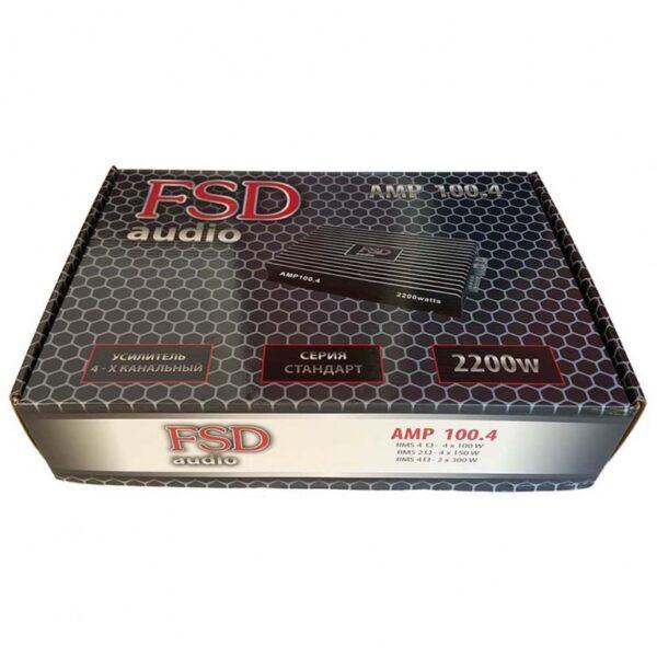 FSD audio AMP 100.4