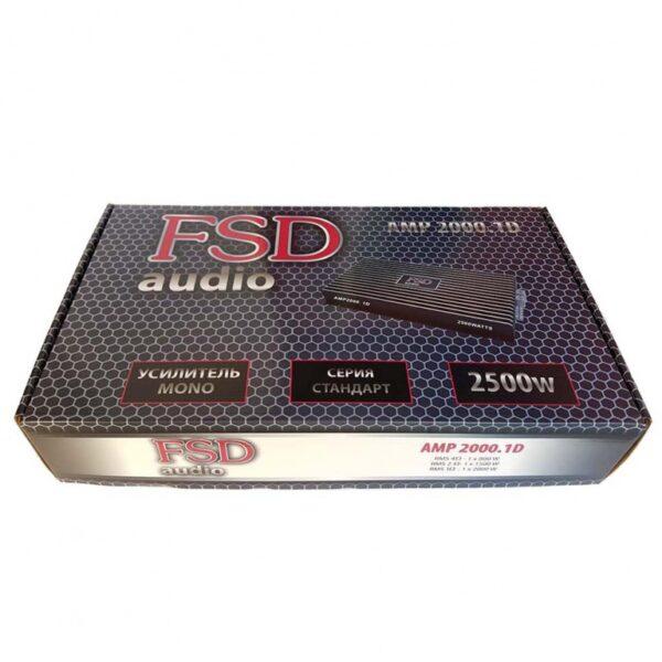 FSD audio AMP 2000.1D