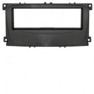 Рамка Ford Focus-2 restal, Mondeo (08+) C-Max, S-Max, Galaxy new  (07+) 1din  black