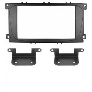 Рамка Ford Focus-2 restal, Mondeo 07+, S-Max, Galaxy new 2DIN (крепеж)