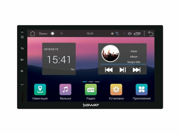 Магнитола SWAT AHR-5280 Android 7