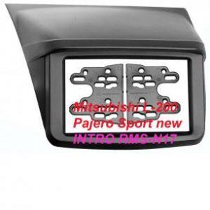 Рамка Mitsubishi L-200, Pajero Sport new 2din (Накладка) (крепеж)