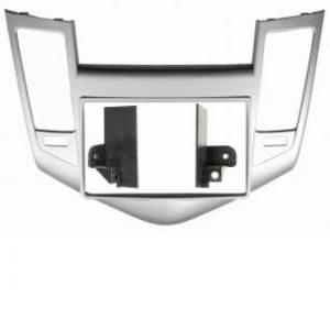 Рамка Chevrolet Cruze 09-12 2din Silver (крепеж)