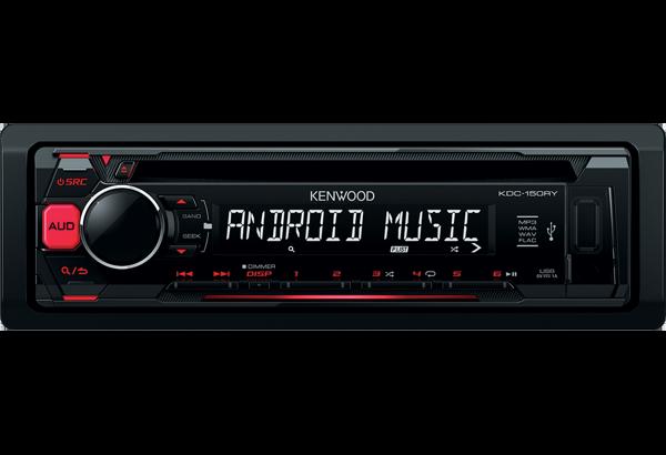 Ресивер Kenwood  KDC-150RY