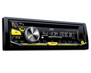 1-DIN CD-ресивер JVC KD-R577Q
