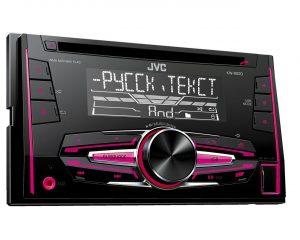2-DIN CD-ресивер JVC KW-R520Q