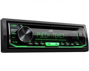 1-DIN CD-ресивер JVC KD-R497
