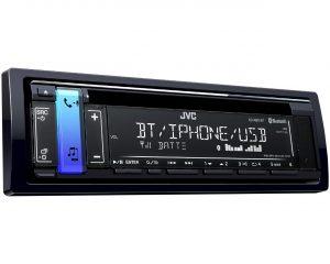 1-DIN CD-ресивер JVC KD-R891BT