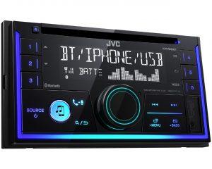 2-DIN CD-ресивер JVC KW-R930BT