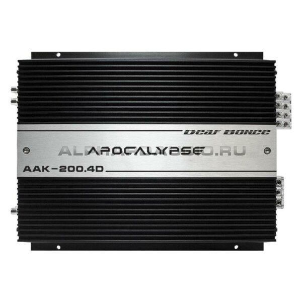 Усилитель Alphard Apocalypse AAK-200.4D
