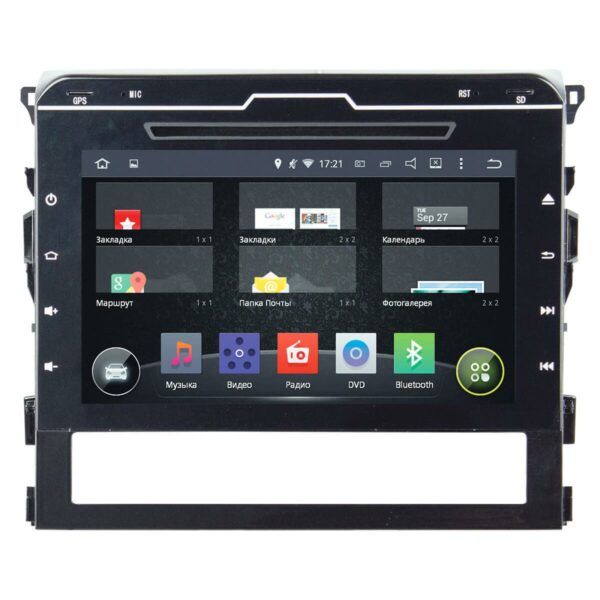 TOYOTA LAND CRUISER 200 2016+ (ANDROID 4.4.4) 9,0""