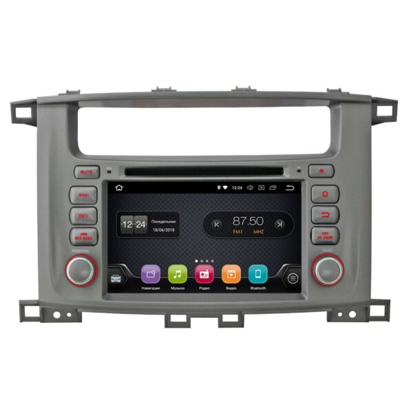 Toyota LC 100 7''(Android 8.0)