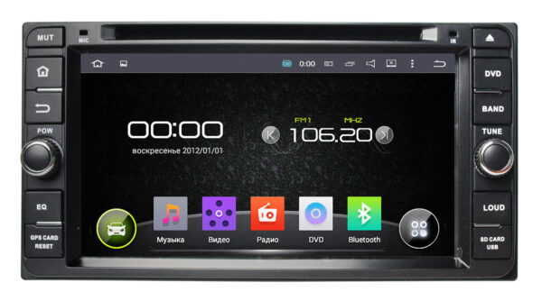 """Toyota Universal (Android 5.1) DVD 6,9"""""""