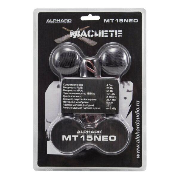 Акустика Alphard MACHETE MT-15 NEO